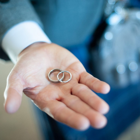 Lifestylefoto.com Wedding Photography by John Grayston - Rings at the Ready!!