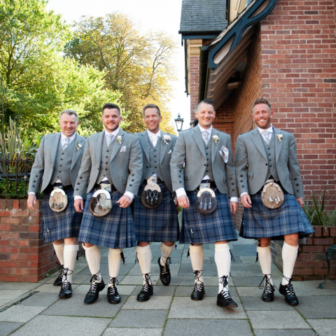Lifestylefoto.com Wedding Photography by John Grayston - The Scottish Have arrived