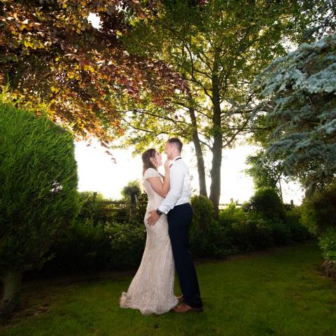 Wedding Photography by John Grayston - Lifestylefoto.com - Garden Ceremony -