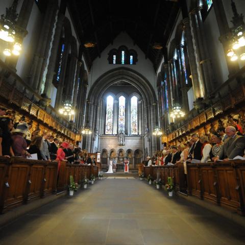 Wedding Photography by Lifestylefoto.com Glasgow University Chapel